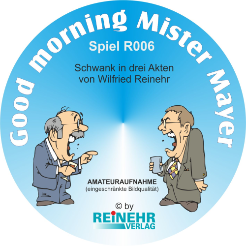 DVD: Good morning Mister Mayer